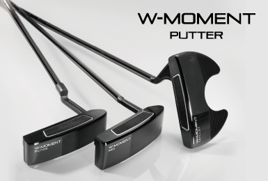 MAJESTY W-MOMENT PUTTER launch in Autumn 2021 worldwide