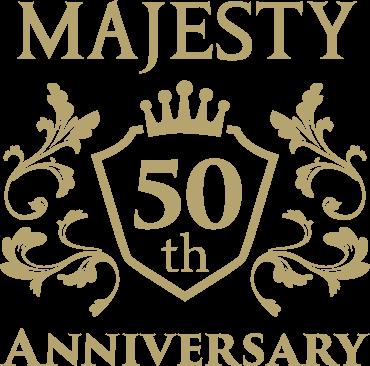 MAJESTY 50th ANNIVERSARY