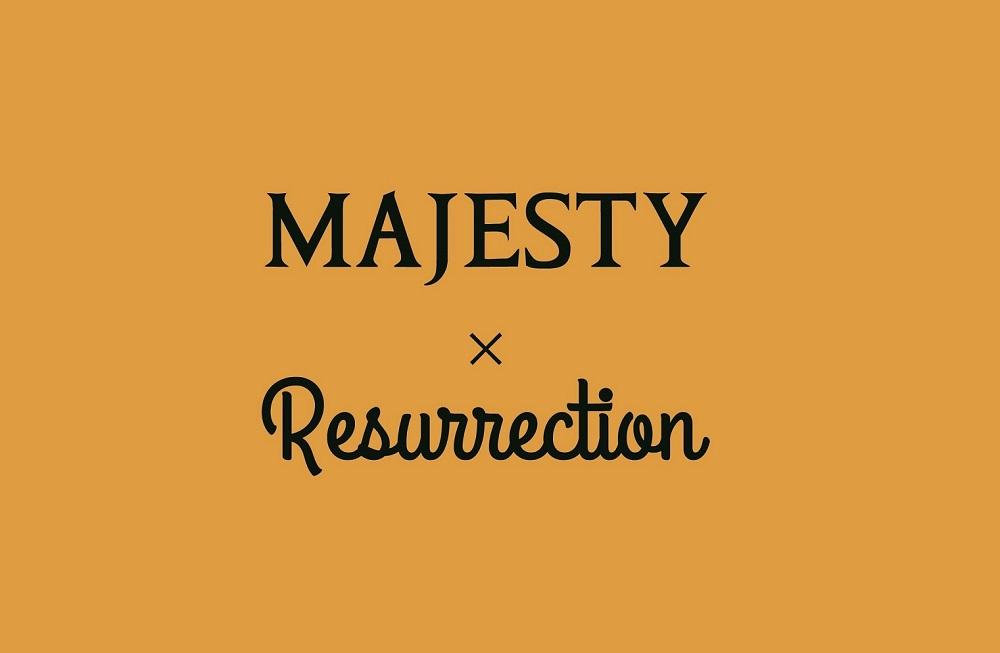 MAJESTY×Resurrection 「第2弾コラボレーション ベルト」発売のお知らせ