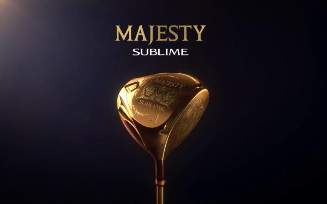 MAJESTY 최대의 고반발 클럽 '마제스티 서브라임' 출시