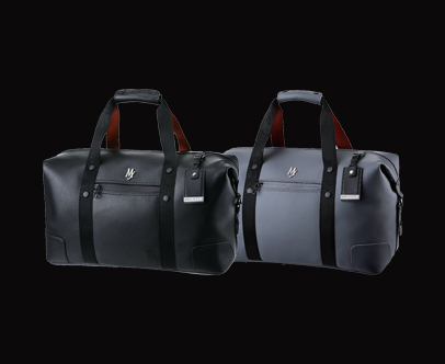 MAJESTY Stylish  Line Boston Bag