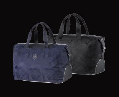 MAJESTY Stylish Line Camo Boston Bag
