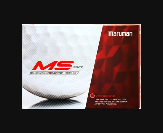 maruman MS 高爾夫軟球